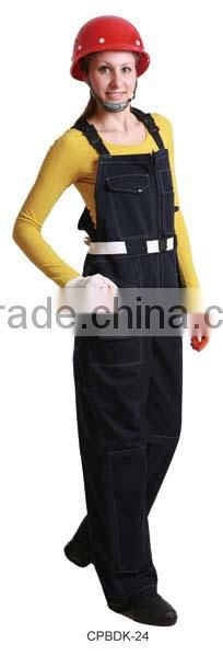 Wholesale alibaba bib pants with high quality leopard print jeans for women