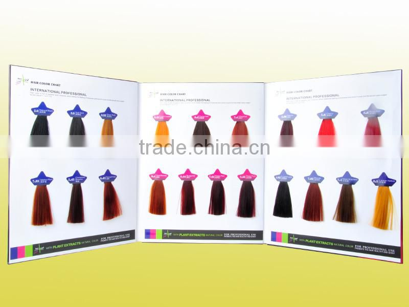 Abundant Colors For Your Choice Hair Dye Color Chart In