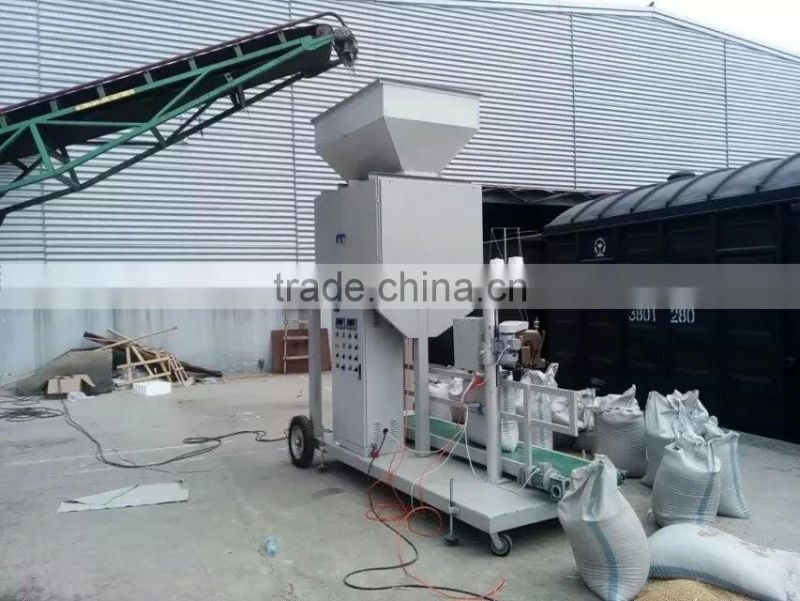 High Accuracy Granular Type 50kg 100kg Cereal Packaging Machine
