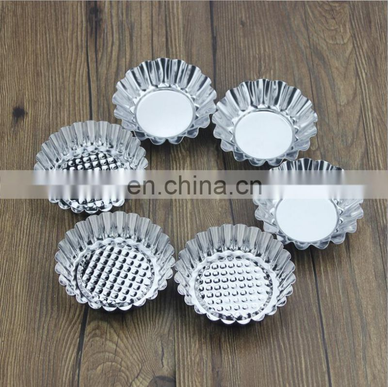 Stainless Steel Cake Mould Cake Egg Tart Model Baking Tool