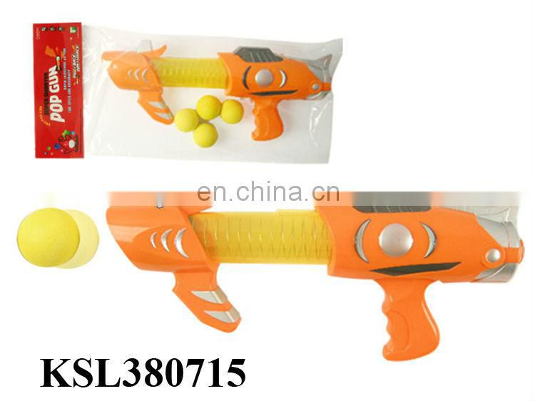 Pop gun soft bullets gun foam shooting gun toy