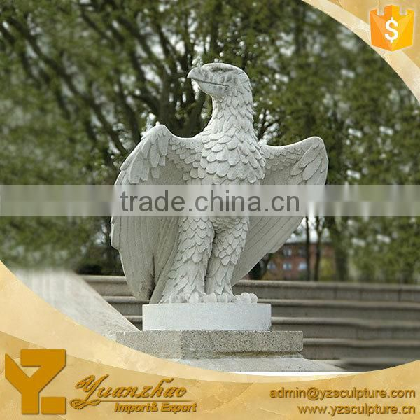 garden life size stone eagle sculpture for sale