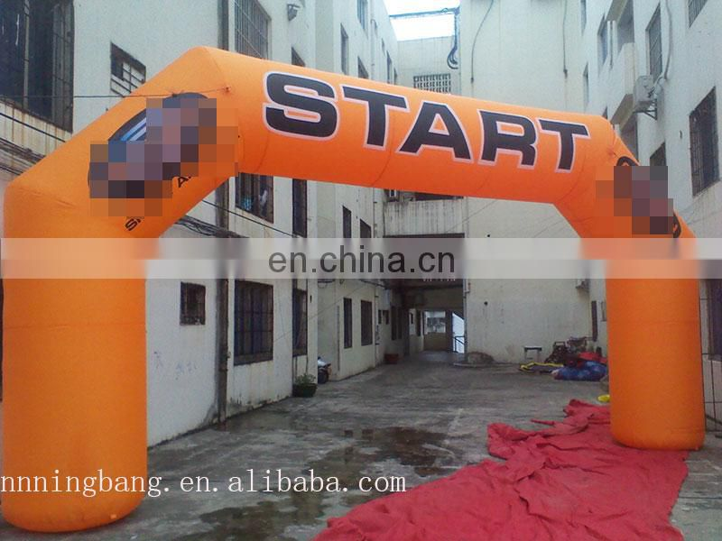 cheap inflatable start arch inflatable entrance arch with logo customized