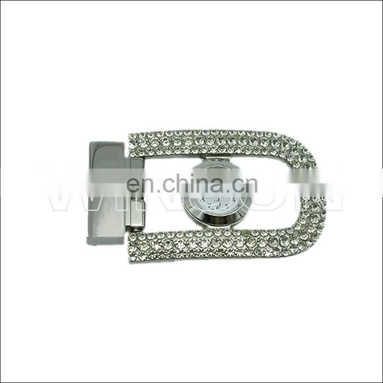 pu belts with metal buckle