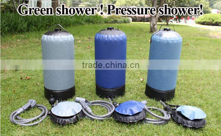 (7343) DIY 3L pressure bottle with show head low pressure shower