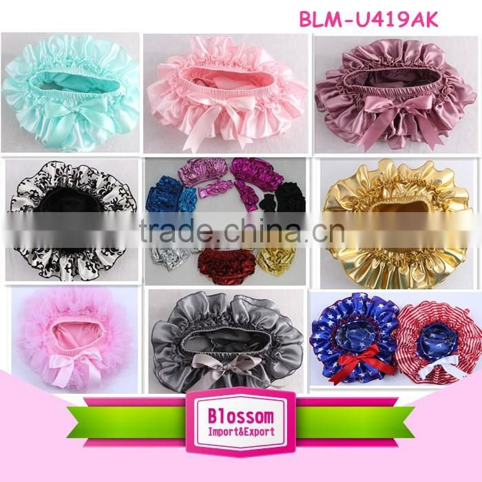 colorful baby girls underwear baby chiffon panty wholesale baby ruffle bloomers kids shorts for 2years girls