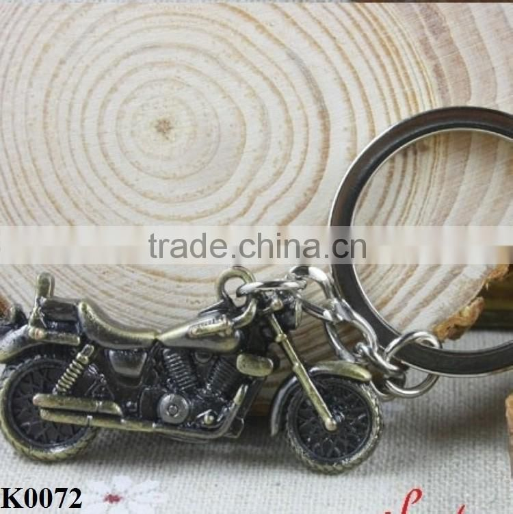 Hot car promotion gift 3D Simulation Model Motorcycle Keychain Key Chain, Keyring K0072
