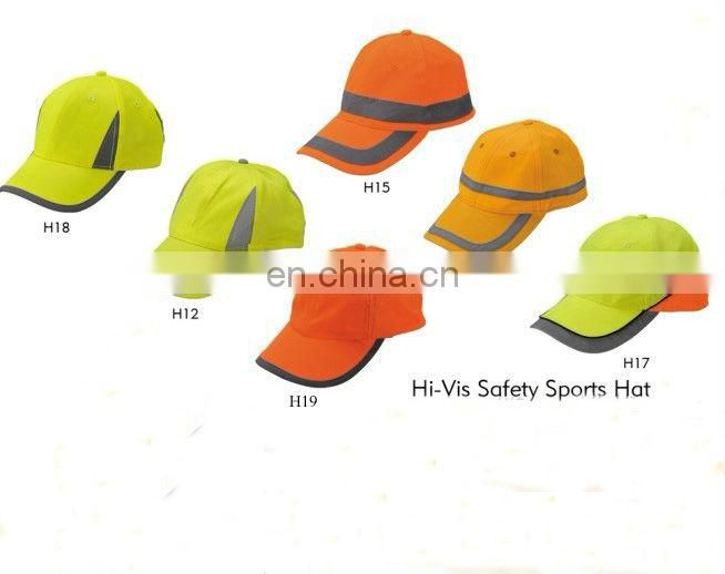 Travell visitor reflective safety cap