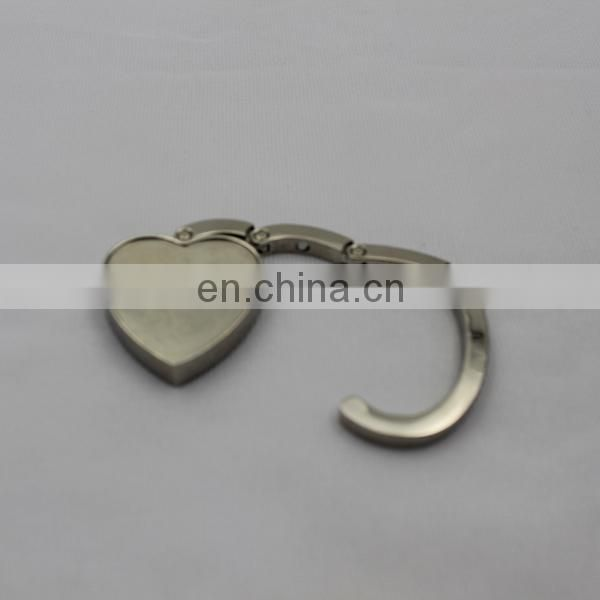Promote paris metal bag hanger hook accessory