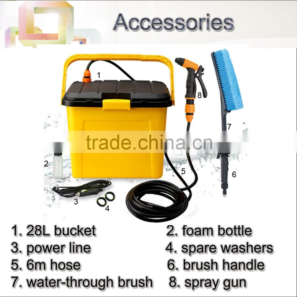 (73030) automatic multi power portable battery powered car wash services