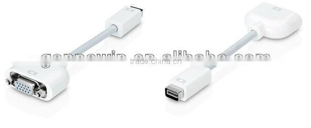 Mini Dvi To vga Adapter Cable For Apple Macbook Imac