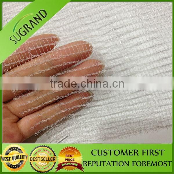 HDPE plastic agriculture white apple tree anti hail net