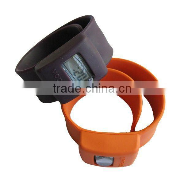 Top quality of silicone slap watch