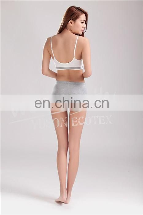 Seamless Breathable Sports Wirefree Bra Nature Bamboo Fiber Removable Pads