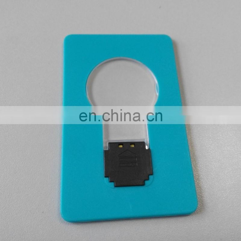 2016 Promotionalmini card led pocket lights for business and decorate