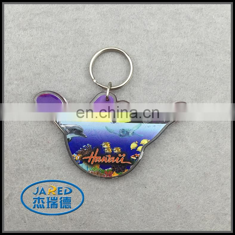 Wholesale latest design plating custom keychain