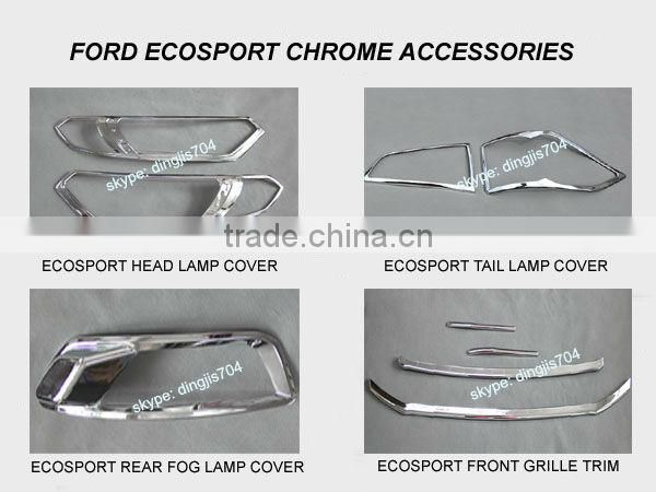 Ford Ecosport Accessories Ford Ecosport Head Lamp Chrome Cover Image
