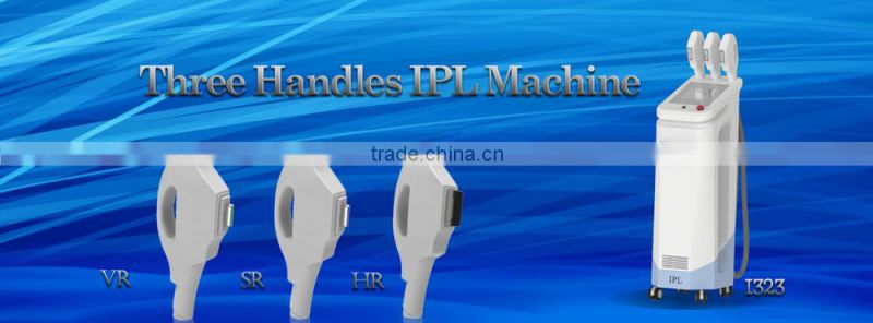 2014 Christmas Promotion!!! ipl hair removal beauty equipment/e-light ipl rf+nd yag laser multifunction machine