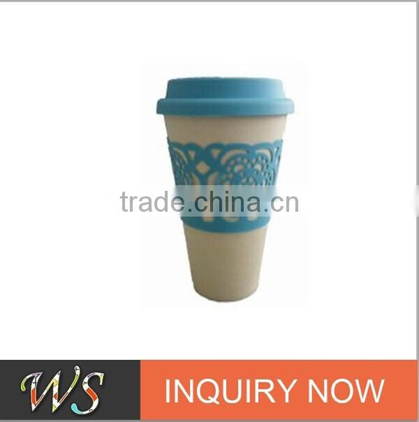 Bamboo Fiber Bio Biodegradable Coffee Cup