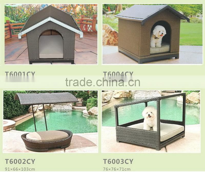Hot sale wicker pet (dog/cat) house
