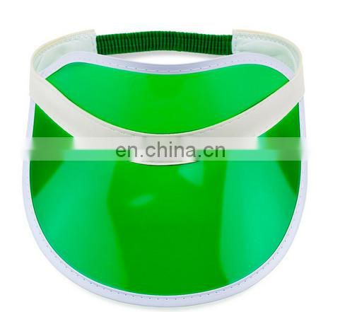 2017 newest promotion cheap plastic sun visor cap