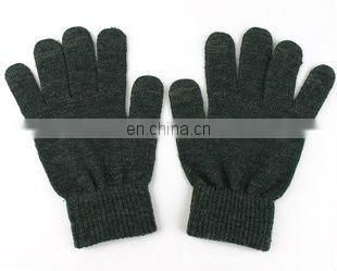 soft touch gloves,black finger touch screen glove,winter fashion gloves