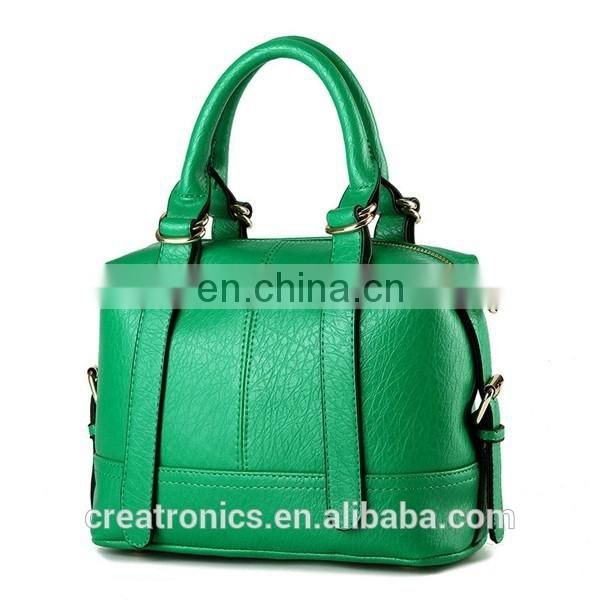 CR High quality control system pu matherial shoulder satchel bag green colors best selling high quality fashion handbags images