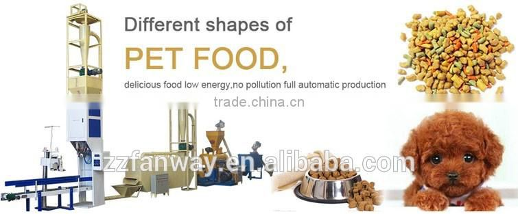 Hot sell extruder pet food extrusion processing equipment/animal