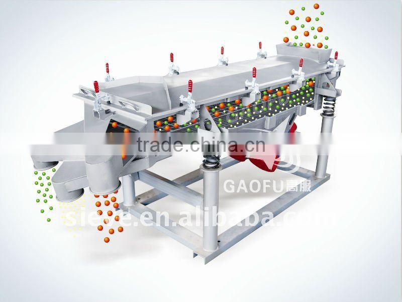 Glass powder linear vibrating separator