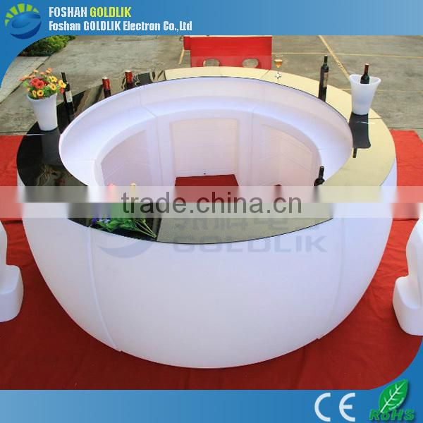 LED Lighting Furniture supplier with high quality pe material GKT-004DK