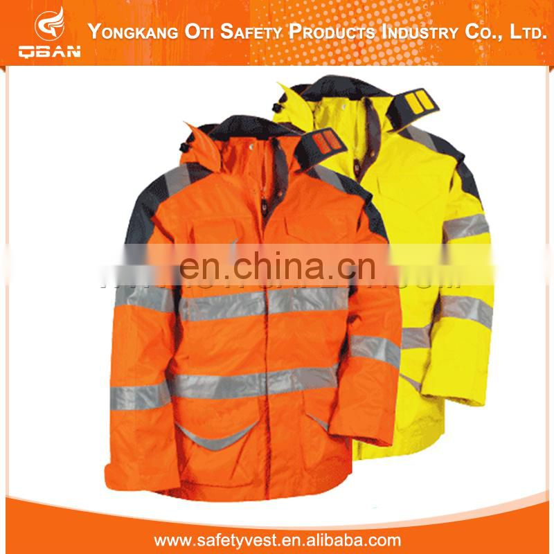 New design high quality winter jacket safety reflective,reflective jacket