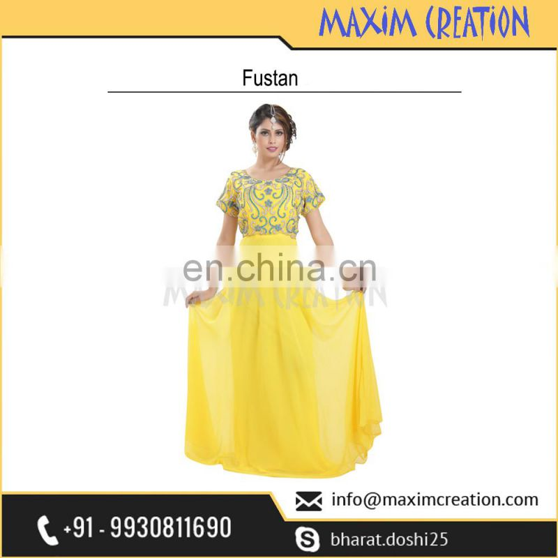 Top Selling Party Wear Fustan For Ladies At Reasonable Price By Maxim Creation 6581