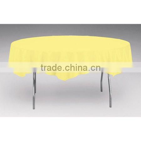 Round Plastic Table Cover