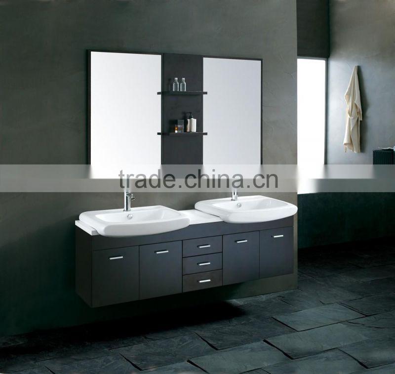 Double Sink Vanity Wall Mounted