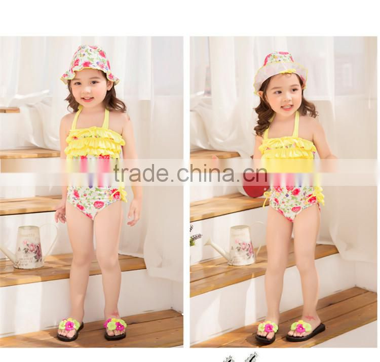 Girls Swimwear Kids Girls Swimsuit Bathing Swimming Clothes Rainbow Girls One-Piece Swimsuits Size ksw-24