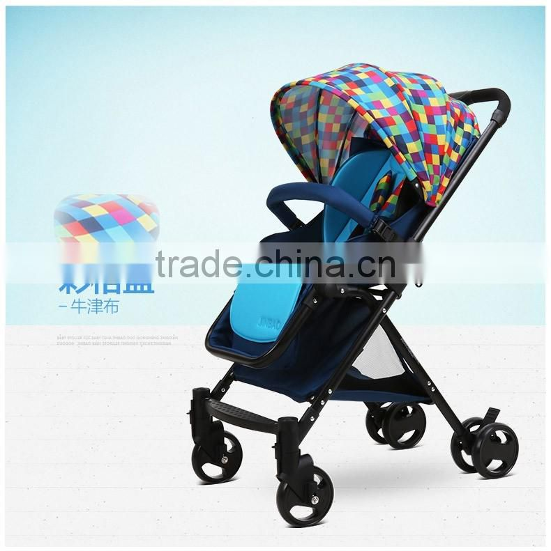 Manufacturer supply Super lightweight mini buggy comfortable folding baby stroller