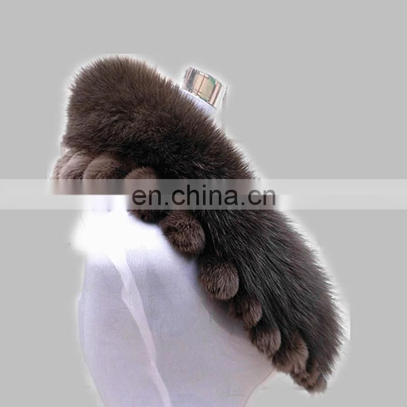 Luxury top quality fur collar real fox fur collar factory direct supply wholesale
