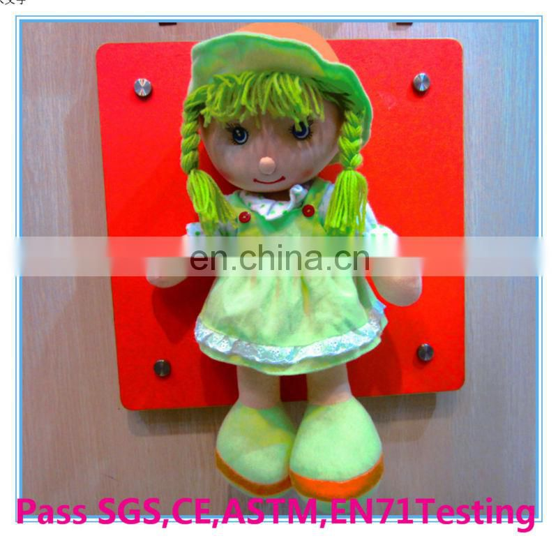 high quality rag doll plush doll
