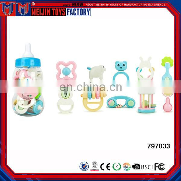 Best Products Plastic Educational Toys Baby Rattle 10pcs