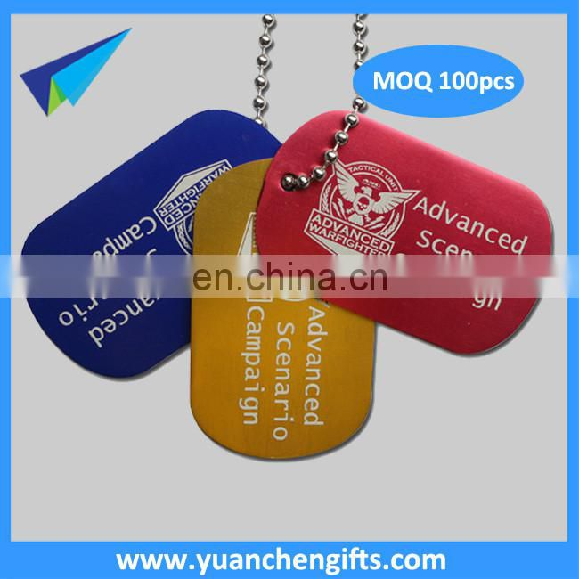 Cheap custom dog tags sublimation blank metal dog tag