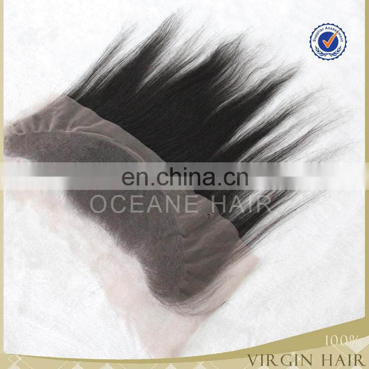 wholesale virgin brazilain hair brazilian lace front closure 4x13 120 density