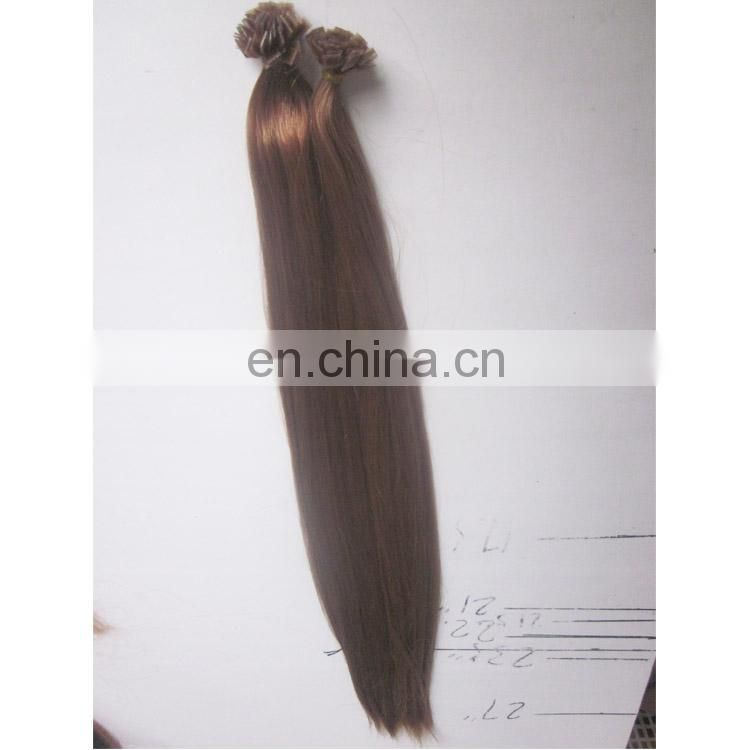 wholesale chinese remy pre bonded keratin fan tip hair extension