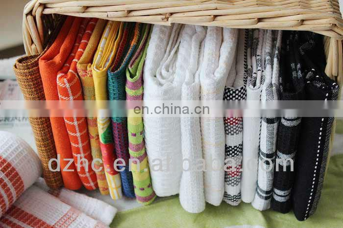 embroidery tea cloth/kitchen towel in kitchen