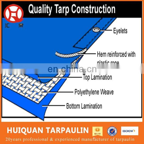 PE tarpaulin Poly tent tarps made in China