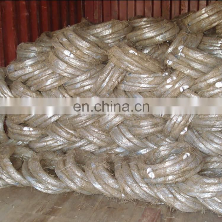 high quality galvanized steel wire 1mm nail making wire for cable amouring