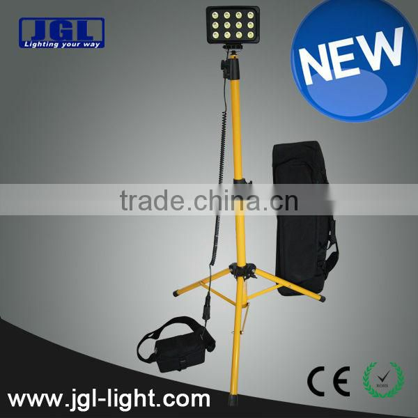Waterproof Guangdong led lighting system Hazardous location tripod light with battery (RLS836L) 12V 7ah Sealed Lead Acid