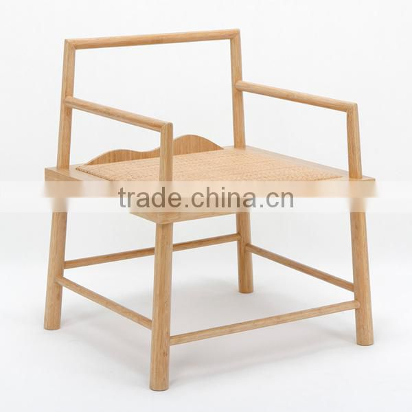 Chinese style bamboo single chair with unique design