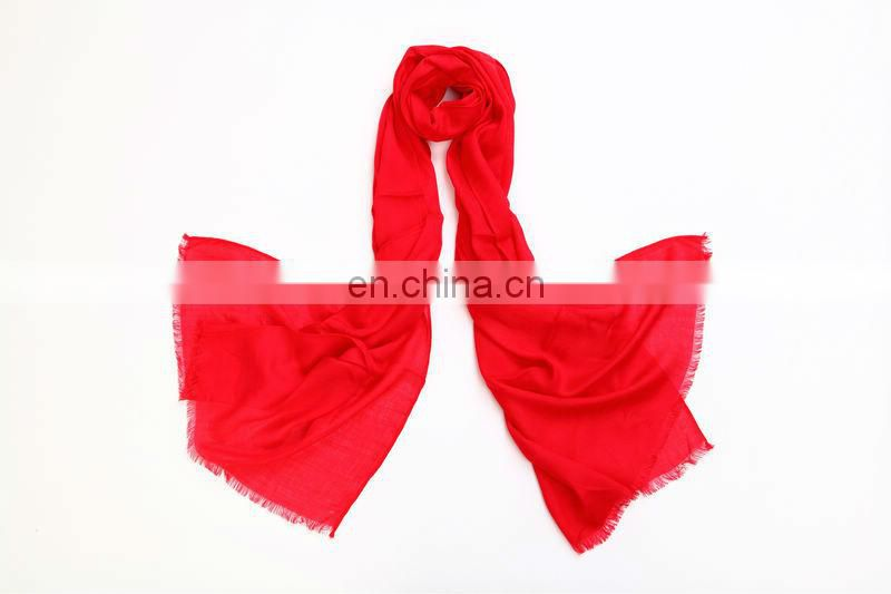 Viscose pashmina scarf with high quality