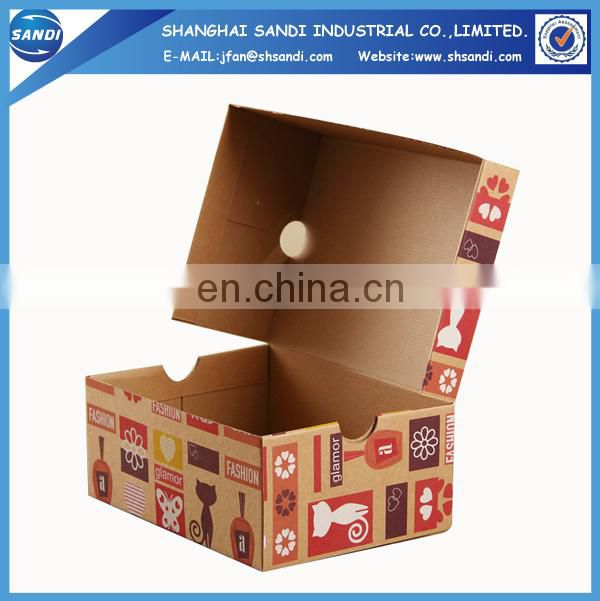 Custom packaging kraft paper box with printing