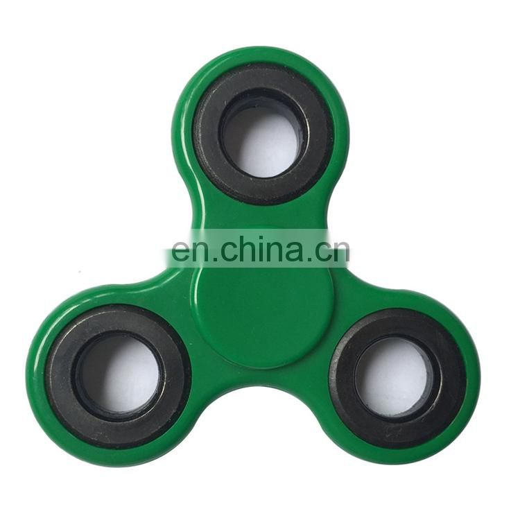 Hot selling colorful fidget hand spinner toys/tri spinner fidget
